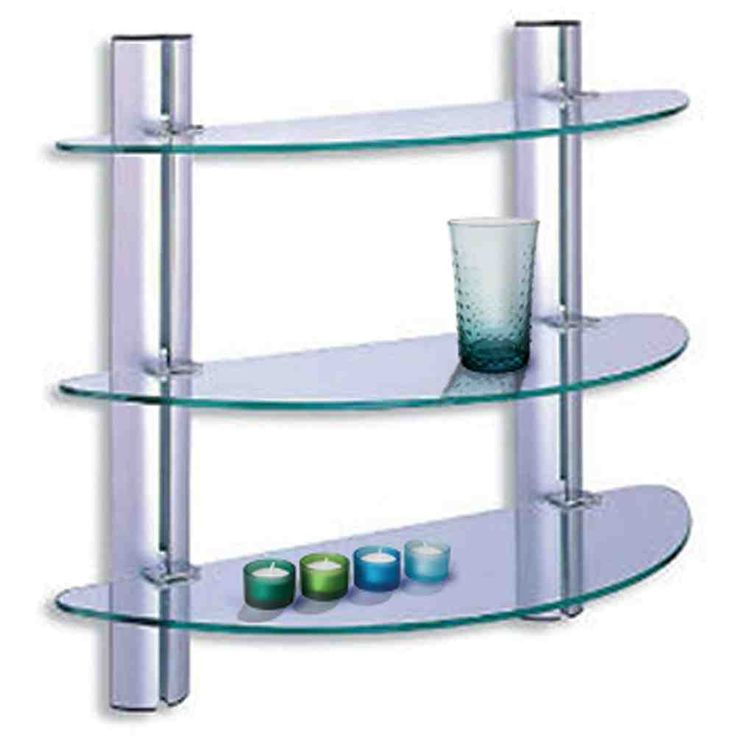 Best 25+ Glass shelves for bathroom ideas only on ...