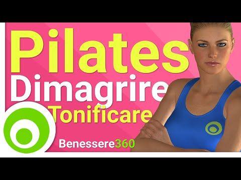 Pilates per Dimagrire e Tonificare - YouTube