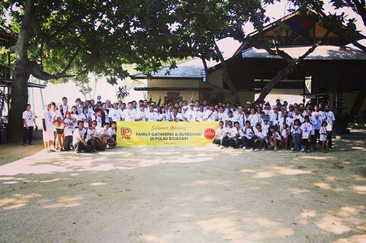 Gathering di pulau bidadari bersama Garuda Adventure - call 08777-349-0007 http://www.garudaadventure.com