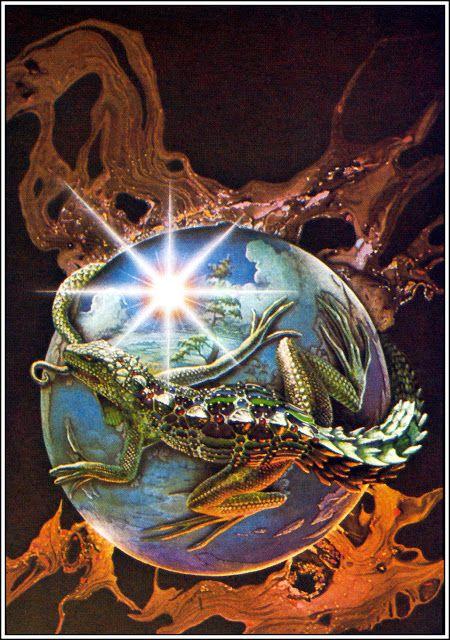 Patrick Woodroffe: Cover art for 'Trullion, Allastor 2262' by Jack Vance