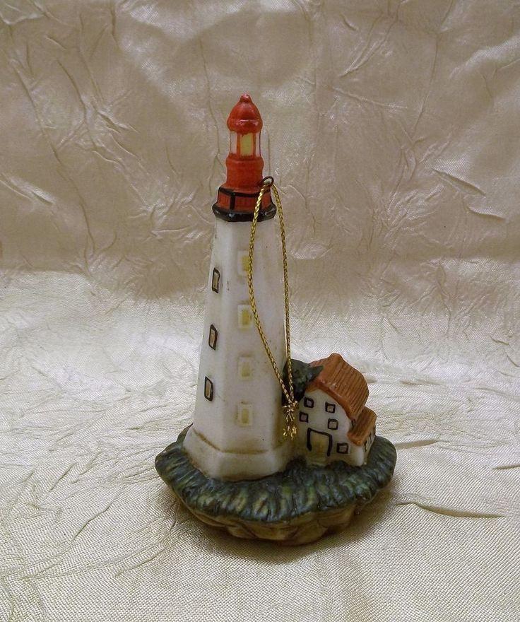 Sandy Hook New Jersey Lighthouse Christmas Ornament