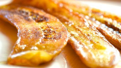 Resistant Starch in the form of delicious Pan Fried Green Bananas - recipe on my…