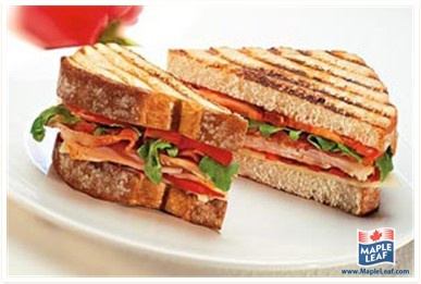 BBQ Club Sandwich from www.MapleLeaf.com