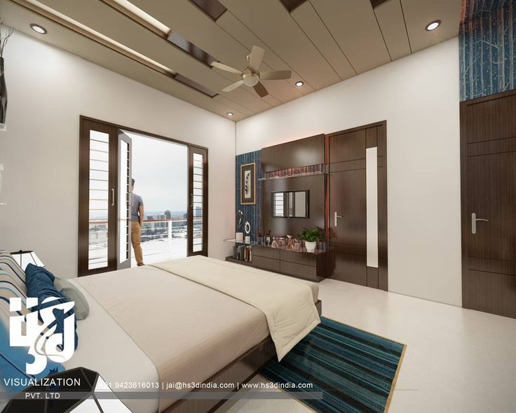 Architecture and interior design projects in India 3BHK Apartment