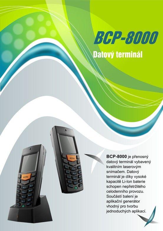 Datový terminál BCP 8000 strana 1 Data Terminal BCP 8000 page Nr. 1