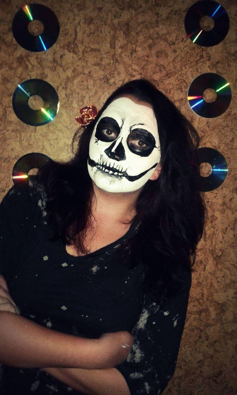 my halloween make up