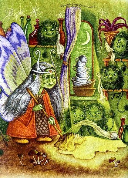 "Katerina Shtanko illustration for ""Andersen's Fairy Tales""."