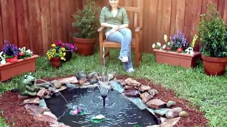12 best diy garden decor images on pinterest garden deco for How to build a koi pond step by step