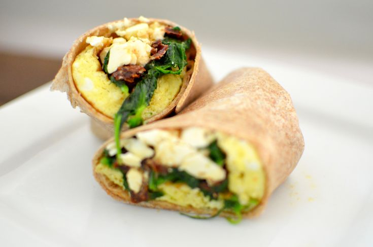Copycat Starbucks spinach and feta wrap