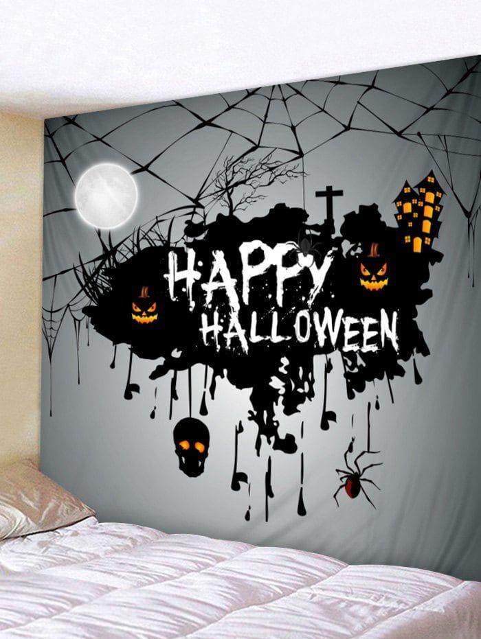 Halloween Theme Print Tapestry Wall Art Tapestry Wall Art Tapestry Decoration Printed Tapestries