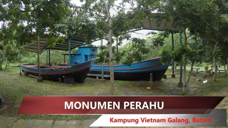 Galang refugee camp / Kampung Vietnam Galang, Monumen Perahu Part #2