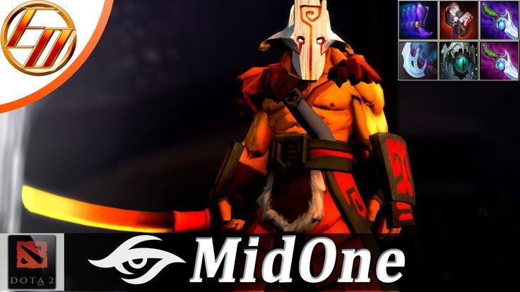 MidOne - Juggernaut Mid Pro Gameplay |RAMPAGE| |Est Dota