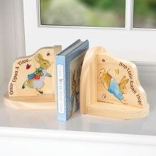 PETER RABBIT. Peter Rabbit Bookends, in printed gift box