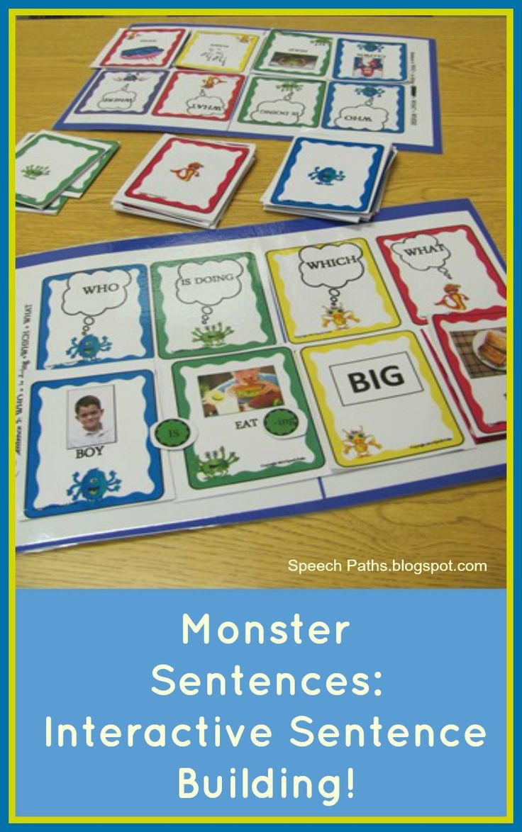 73 Best Speech Therapy Sentence Building Images On