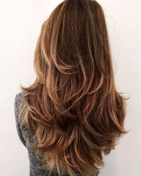 Coupe cheveux long dégradé. #Coiffure #Coiffure2017 #cheveux  #tendance #tendance2017