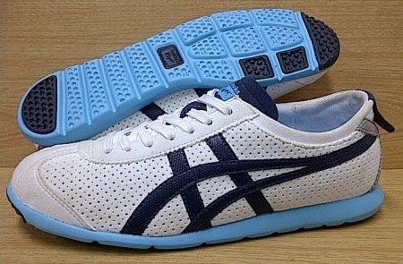 #onitsukatiger Tertarik ? Hub : 0831-6794-8611 Kode Sepatu: Onitsuka Tiger Rio Runner W White Blue | Ukuran Sepatu: 38 | Harga: Rp. 510.000,-