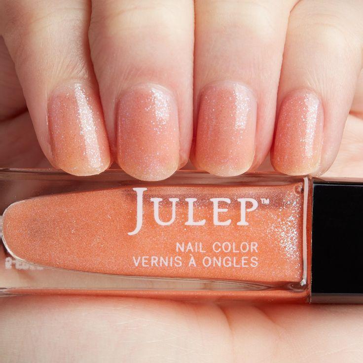 Nyc Metallic Nail Polish: Orange Glow-in-the-dark