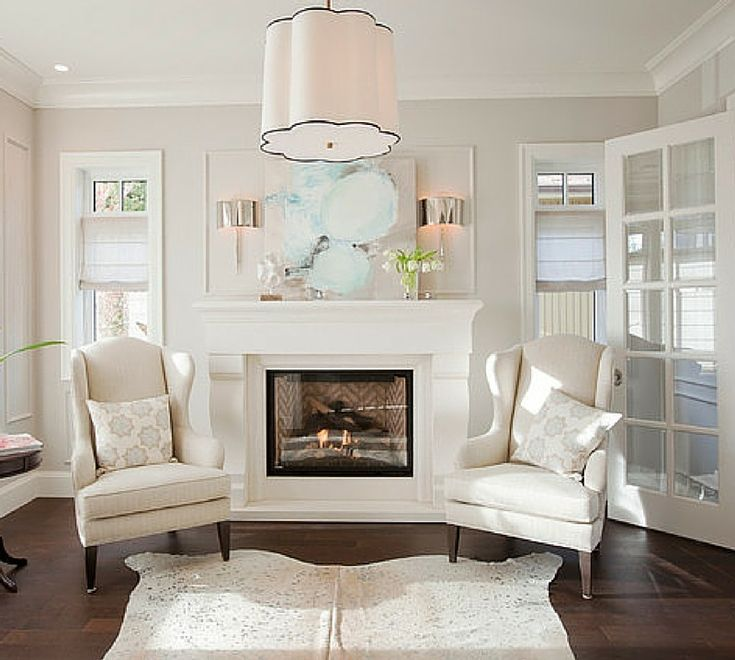 OC 18 Dove Wing Or BENJAMIN MOORE Balboa Mist 1549 TRIM White