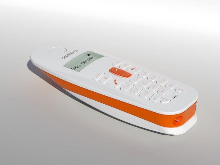 3D Model Cordless Telephone Gigaset A38h - 3D Model
