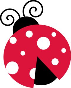 Pink Lady Bug With White Dots clip art - vector clip art online, royalty free & public domain