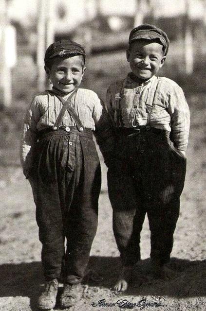 Boys from Circassian Village, Turkey by Ottoman History Podcast, via Flickr