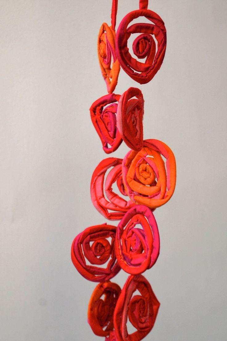Juicy Colours Necklace - LOLLIPOP - Textile Jewellery by MaterialAtelier