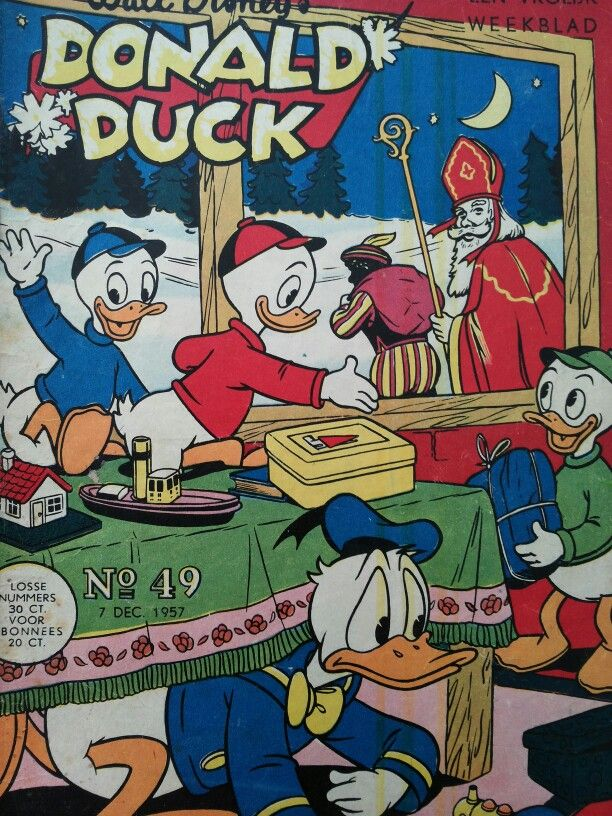 Sinterklaas 'cover' 1957