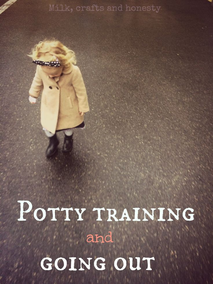 Potty training and going out. A list of 13 useful tips for when you can finally go outside without diapers/nappies.