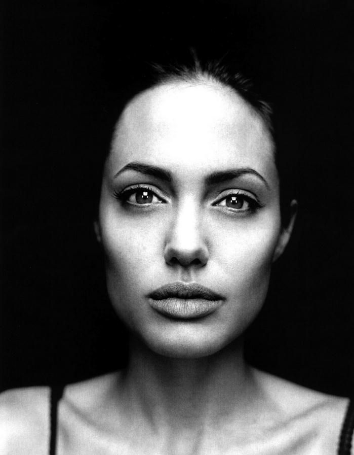 Angelina Jolie (1975) - American actress, film director, screenwriter, and author. Photo by Robert Maxwell