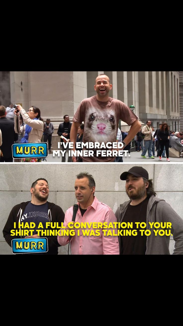 I long for a friendship like the one Joe and Murr have XD