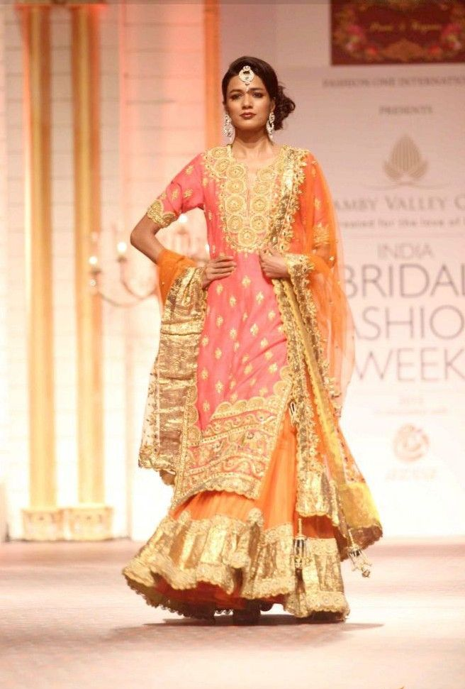 Indian Latest Wedding Bridal Sharara Designs 2015-2016 Collection