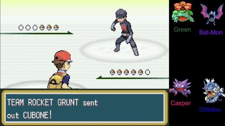 Pokemon Nuzlocke - Fire Red Ep. 34: Rival Blue Round VI & Boss Giovanni