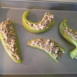 Stuffed Hot Peppers...going to try these with the peppers Trey brought home from work
