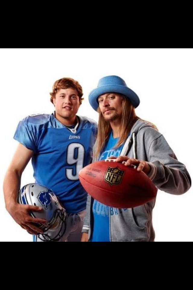 Kid Rock loves his Detroit sports!