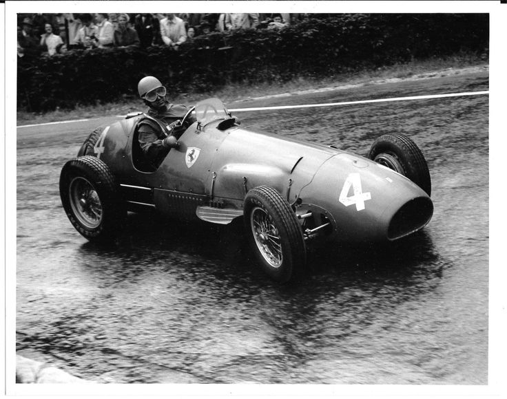 ALBERTO ASCARI FERRARI 500 1952 SPA FRANCORCHAMPS PHOTOGRAPH VERY LARGE PRO SHOT | eBay