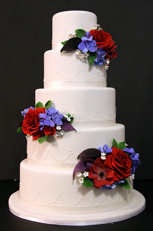 10 best Red & Purple wedding flowers images on Pinterest | Color ...