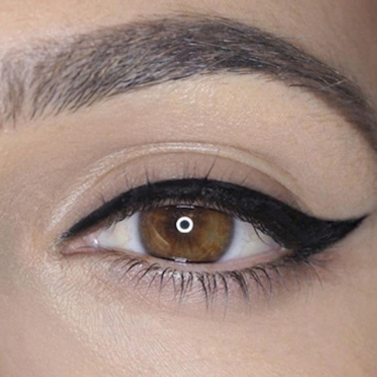"""Cat eye"" step by step tutorial"""