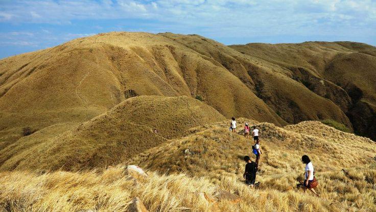 Treking at komodo national park Flores NTT Indonesia