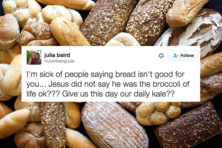 23 Tweets That Will Make Carb Lovers Laugh Harder Than They Should