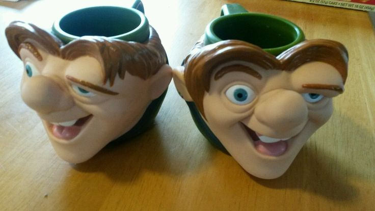2 Applause Disney Quasimodo The Hunchback Of Notre Dame Plastic Mugs