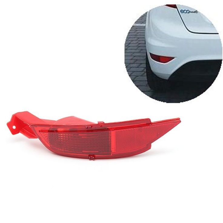 Car Right/Left Hand Tail Rear Bumper Reflector Lamp Brake Light Rear Fog Lights For Ford/Fiesta Mk7 2008-2012 - $19.99
