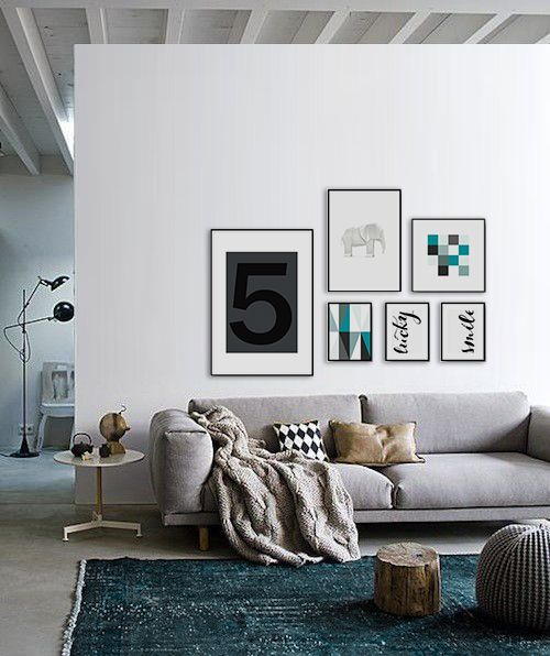 Posters Prints And Framed Art Above The Sofa Great Looking Livingroom Buy Your