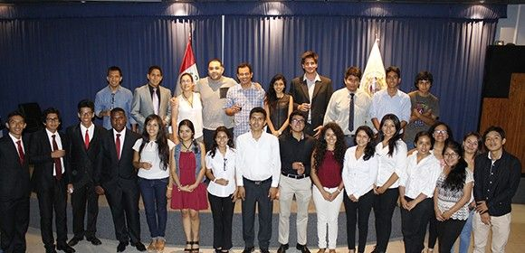 #FCCTP | Los miembros del Capítulo de Estudiantes PRSSA USMP tuvieron una destacada participación en el auditorio de la Facultad de Letras y Ciencias Humanas de la UNMSM.