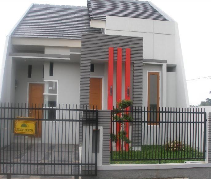 Pagar Rumah Minimalis Modern 1