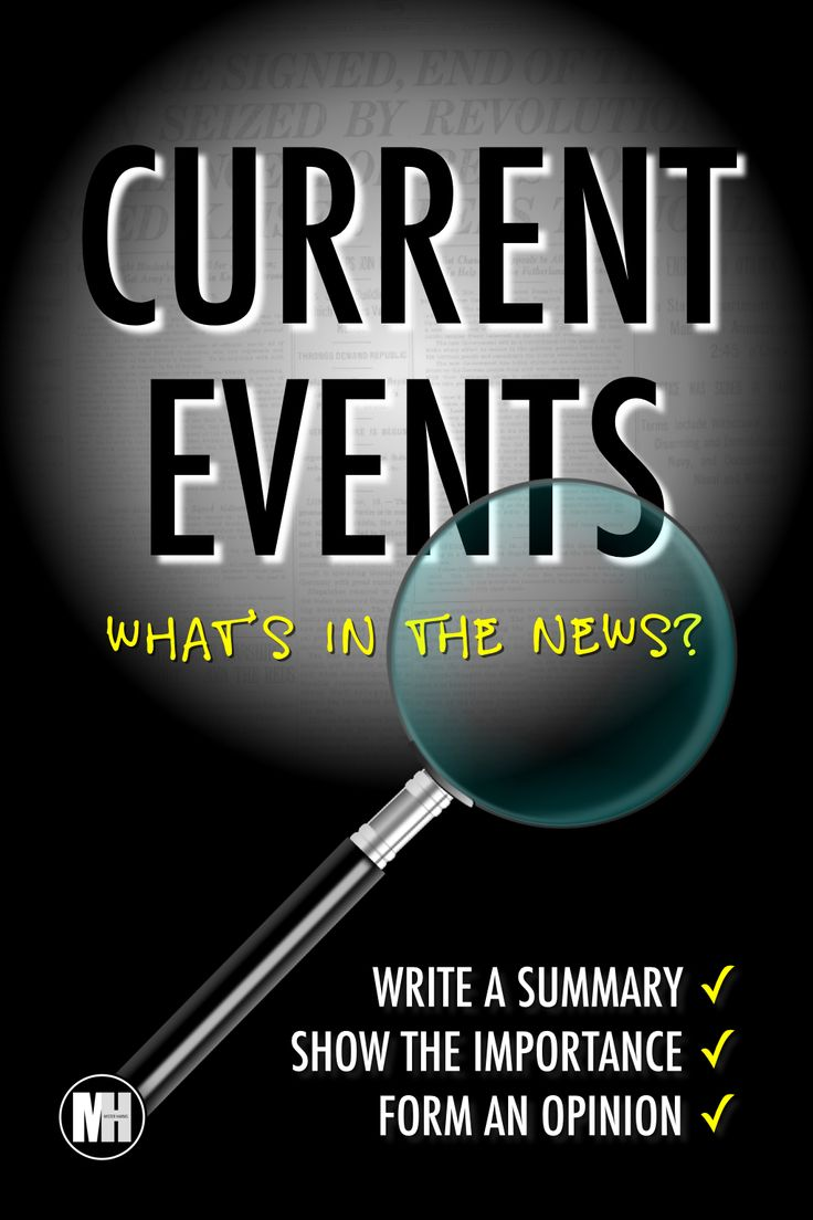 This Current Events Summary is an excellent tool for students to get involved with the news and the current events of the week. A simple writing format helps students write a summary, show the importance, and form an opinion about current news stories and events. I find this activity to be a practical filler for various social studies classes. #currentevents #classrooom