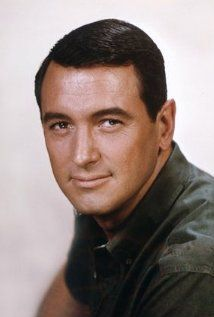 """Rock Hudson  Actor, Giant He was the son of an auto mechanic and a telephone operator who divorced when he was eight years old. He failed to obtain parts in school plays because he couldn't remember lines. After high school he was a postal employee and during WW II served as a Navy airplane mechanic. After the war he was a truck driver...  """" Navy - served in the Philippines as an aircraft mechanic during World War II. """" - FilmzToGo"""