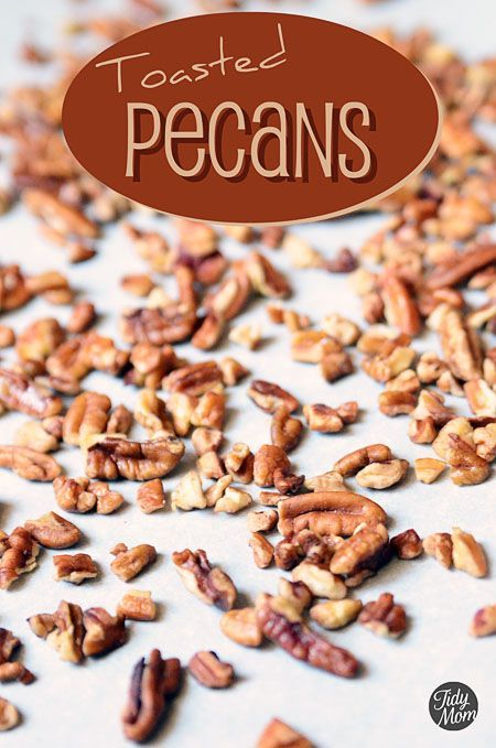 How to Toast Pecans