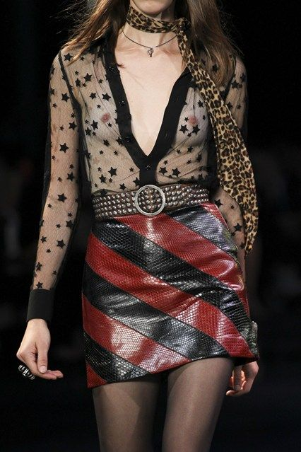 Saint Laurent Spring/Summer 2015 Ready-To-Wear