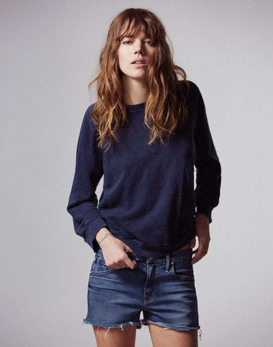 Freja Beha Erichsen Jeans For Mother | POPSUGAR Fashion