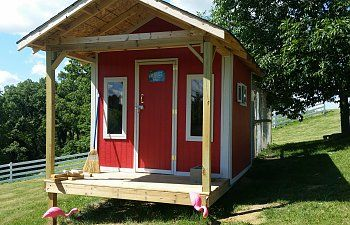 [ATTACH]  Here is my 8x8 barn style coop I built last year. The coop currently houses 4 hens (3 Plymouth Rocks and 1 Rhide Island Red), we also have 3 ducks that use the coop as a shelter when they want to get out of the weather.   I designed and...